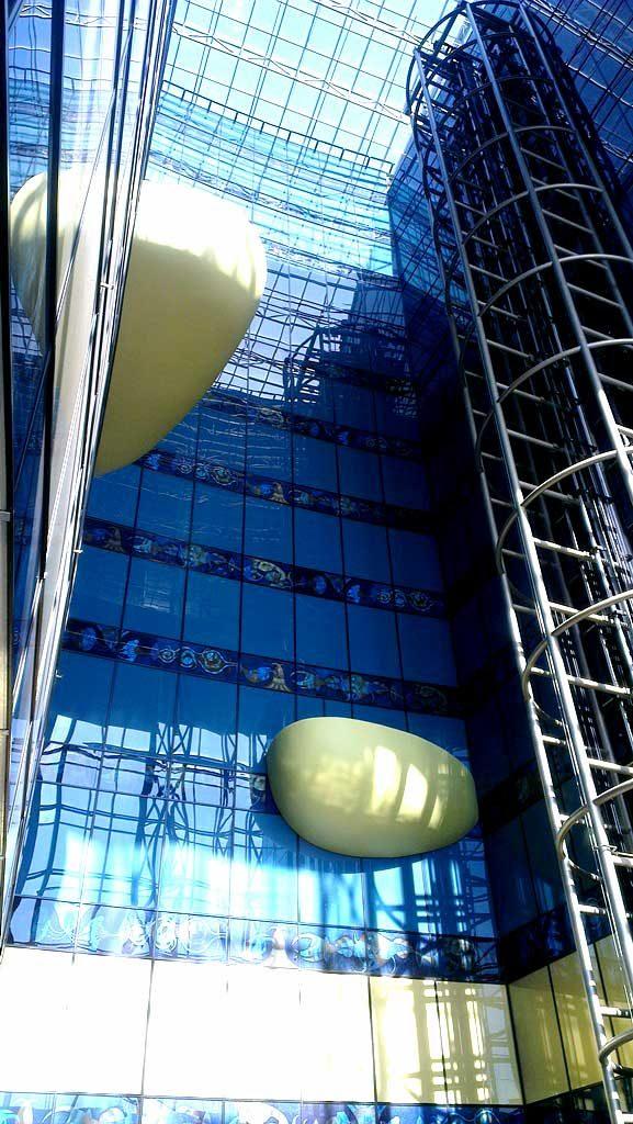 Glasfassade bedruckt von Glavort